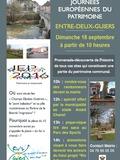 Journées du patrimoine 2016 -Découverte par le public de l'Histoire des sites du futur projet Riv'2 Guiers.