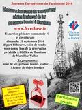 Journées du patrimoine 2016 -Découvrez les traces du transporteur aérien à minerai de fer du causse Comtal à Marcillac-Vallon
