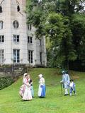 Journées du patrimoine 2016 -Défilé en costumes XVIIIe siècle