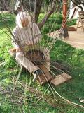 Journées du patrimoine 2016 -Démonstration de fabrication de vannerie