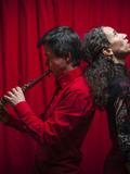 Nuit des musées 2018 -DIALOGUE D'UTOPIE ORIGINELLE (D.U.O)...Spectacle musical déambulatoire par la Compagnie d'un Instant à l'autre