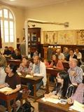 Journées du patrimoine 2016 -Dictée à l'encre violette en classe 1930