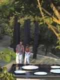 Journées du patrimoine 2016 -Dix ans d'exposition d'art plastique en pleine nature sur des restanques Provençales