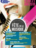 Fête de la musique 2018 - Dj, concerts live et danse
