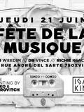 Fête de la musique 2018 - Dj Weedim / Dr Vince / Richie Reach
