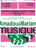 Fête de la musique 2018 - Amadou & Mariam /  Theo Lawrence and the Hearts / AMI / Barth Russo / Ecole de musique