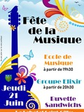 Fête de la musique 2018 - Ecole de musique / Orchestre Elixir