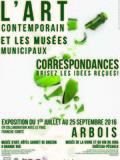 Journées du patrimoine 2016 -Exposition Correspondances à Arbois