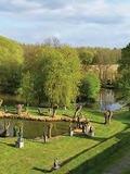 Rendez Vous aux Jardins 2018 -Exposition d'art dans les jardins du Château de Petit Leez