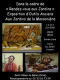 Rendez Vous aux Jardins 2018 -Exposition d'outils anciens