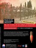 Journées du patrimoine 2016 -Exposition de la Vigne à la table d'Ensérune....