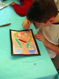 Rendez Vous aux Jardins 2018 -Exposition des enfants de l'atelier d'art du Petit Vauvéron: Tour d'Europe