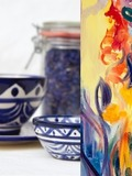 Journées du patrimoine 2016 -Exposition de l'atelier faïence du Patiau et de Nina Karapetyan, artiste peintre du 1er au 28 septembre 2016