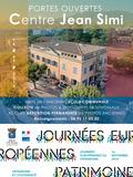 Journées du patrimoine 2016 -Journées Portes Ouvertes Centre Jean Simi