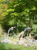 Rendez Vous aux Jardins 2018 -Exposition permanente de statues céramiques
