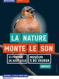 Nuit des musées 2018 -Exposition temporaire La nature monte le son