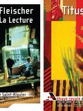 Journées du patrimoine 2016 -Expositions de Titus-Carmel, peindre, écrire et de Alain Fleischer, La Lecture.