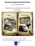 Journées du patrimoine 2016 -Expositions