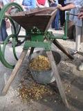 Journées du patrimoine 2016 -Fabrication de jus de pomme
