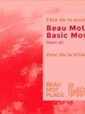 Fête de la musique 2018 - Beau Mot Plage x Basic Movement