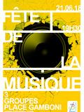 Fête de la musique 2018 - Be4 / Rouuge music / Ad Lib