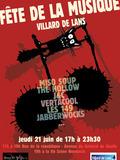 Fête de la musique 2018 - Miso Soup, The Hollow, J&C, Vertacool, Les 149, Jabberwocks...
