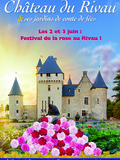 Rendez Vous aux Jardins 2018 -Festival de la Rose au Rivau !