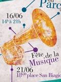 Fête de la musique 2018 - Les Crazzy's Jazz, Les PimPamPoum, The Experience, VoxPop, Amarock