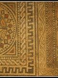 Journées du patrimoine 2016 -Fragment réstauré de la mosaïque Gallo-Romaine à Migennes