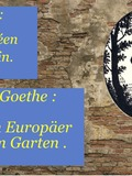 Rendez Vous aux Jardins 2018 -Animations : Goethe : un Européen au jardin et Jeu de pistes