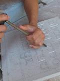 Journées du patrimoine 2016 -Gravure sur pierre