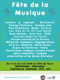 Fête de la musique 2018 - Groupe musical de la Brenne