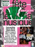 Fête de la musique 2018 - Groupes EMA / Cocosunshine / Frères Parish