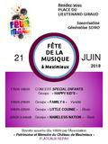 Fête de la musique 2018 - Happy Kids, Family 6, Little Couinie, Nameless Nation