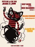 Fête de la musique 2018 - HellBilly Krows, Box Basher