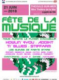 Fête de la musique 2018 - Howlin'4You / Addikt / Ti'Blues / Stiffarm / Les élèves de Faby's Stars
