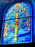 Journées du patrimoine 2016 -Inauguration du nouveau vitrail de Notre-Dame de Lesches