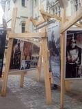 Journées du patrimoine 2016 -Installation artistique Saumur, Intersections 1916