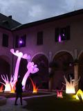 Nuit des musées 2018 -Installation lumineuse dans les Jardins