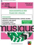 Fête de la musique 2018 - Intermède jazzy, concert-bal cajun