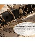 Nuit des musées 2018 -Interprétation à la clarinettes de morceaux choisis par les élèves du Conservatoire de musique de Digne les Bains