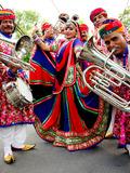 Fête de la musique 2018 - Jaipur Maharaja Brass Band, Cyril Santiago et son fils, Océanne, DJ Guillaume