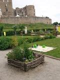 Rendez Vous aux Jardins 2018 -Visite commentée du jardin médiéval du château de Montrond-les-bains