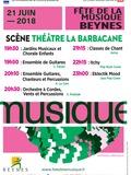 Fête de la musique 2018 - Jardins musicaux et chorale enfants / Orchestres et ensembles / Classes de chant / Itchy / Eklectik Mood