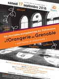 Journées du patrimoine 2016 -Journée du patrimoine à l'Orangerie de Grenoble