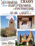 Journées du patrimoine 2016 -Journées du patrimoine à Chassy