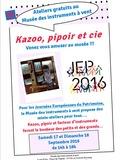 Journées du patrimoine 2016 -Atelier