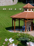 Journées du patrimoine 2016 -Kiosque Badoit et exposition florale