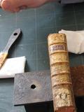Journées du patrimoine 2016 -L'atelier de conservation préventive des Archives.