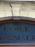 Journées du patrimoine 2016 -L'Ecole normale de Valence - Images et documents
